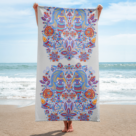Twin Mermaid Towel