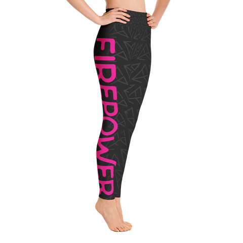 FirePower Print Yoga Leggings