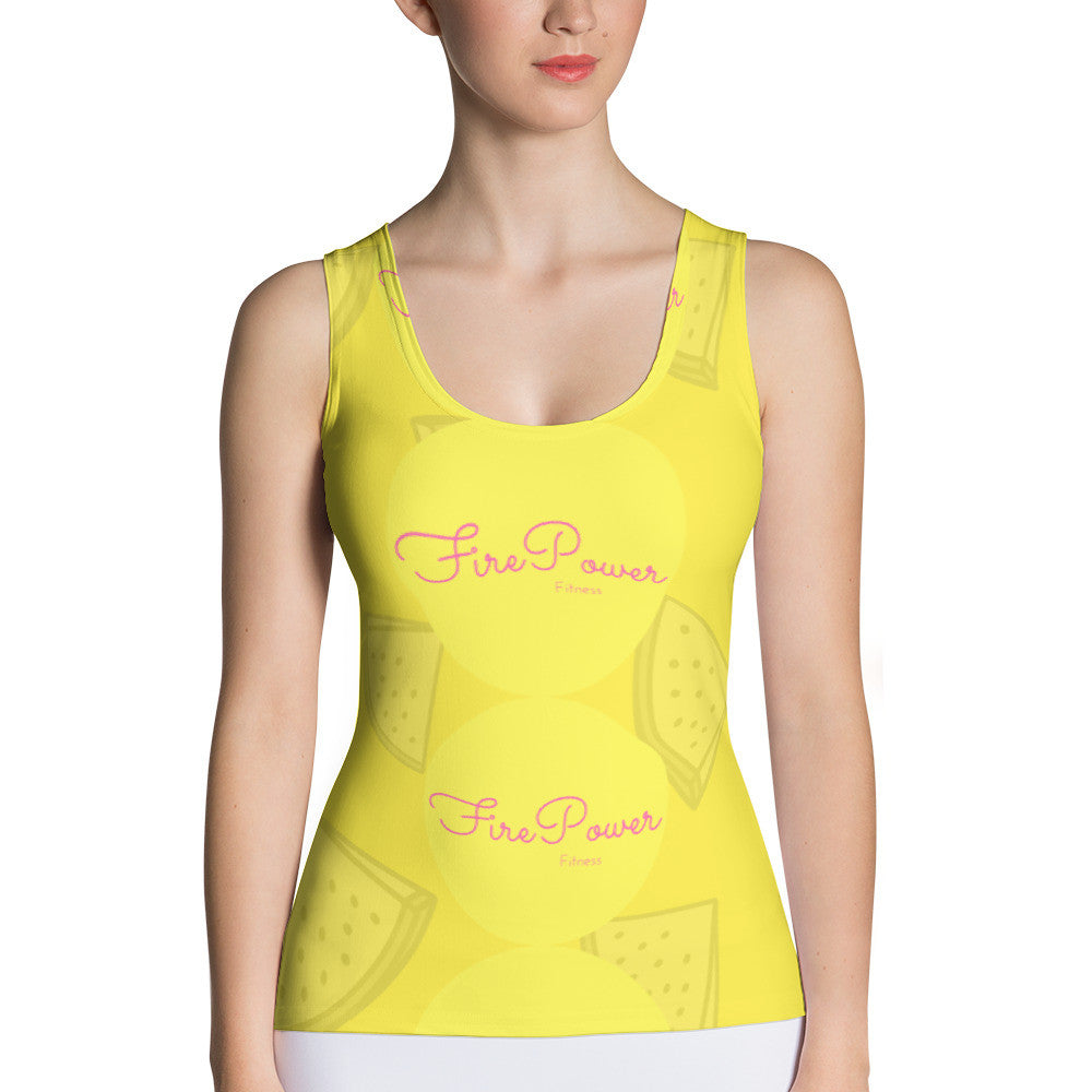 WaterMelon Fresh FirePower Tank Top