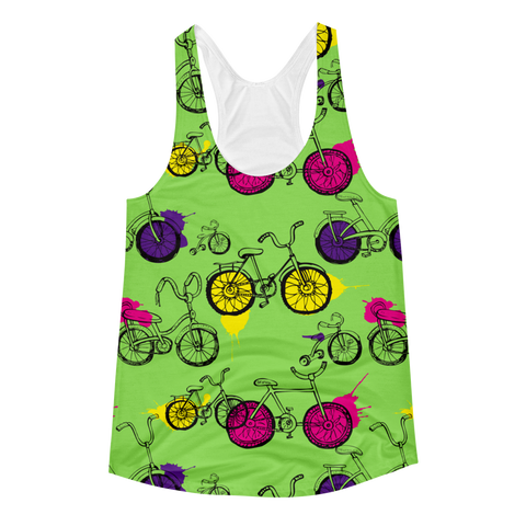 Bike Away Racerback Tank
