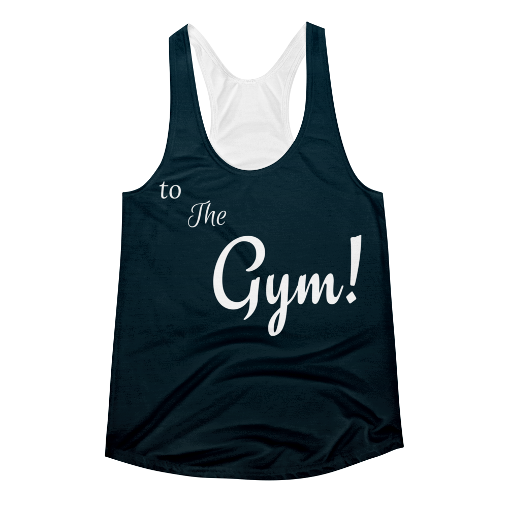 To the Gym Racerback Tank