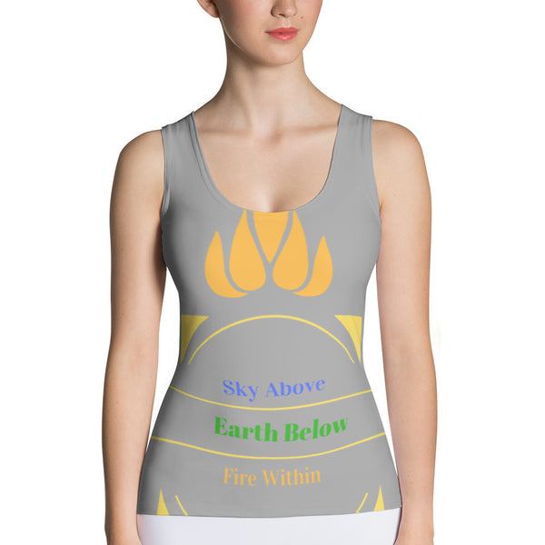 Sky Above, Earth Below, Fire Within FirePower Tank Top