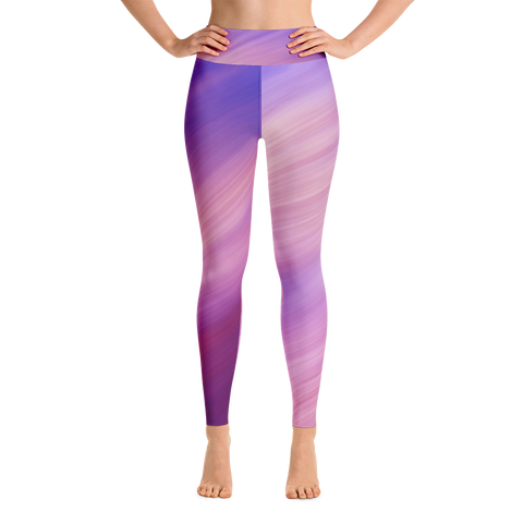 Purple Haze Yoga Leggings