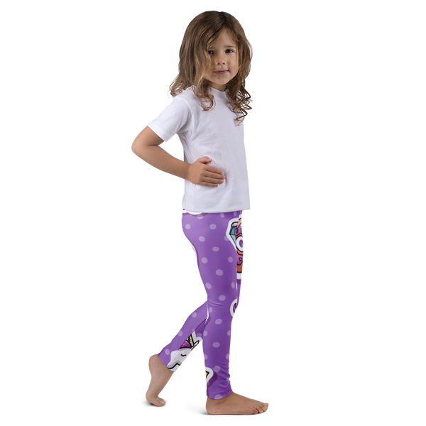 Unicorns, Donuts, and Diamonds Kid's leggings