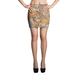 Golden Granite Mini Skirt