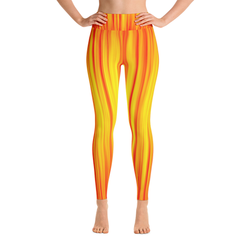 Fire Flow Yoga Leggings