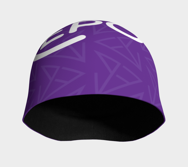 FirePower Purple Logo Beanie
