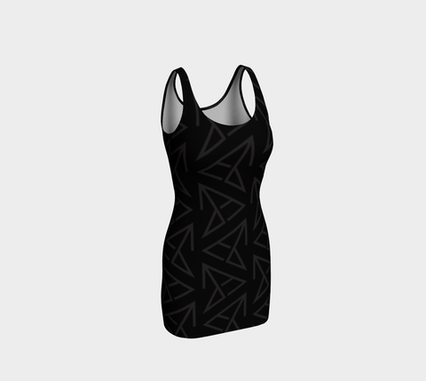 FirePower Logo BodyCon Dress