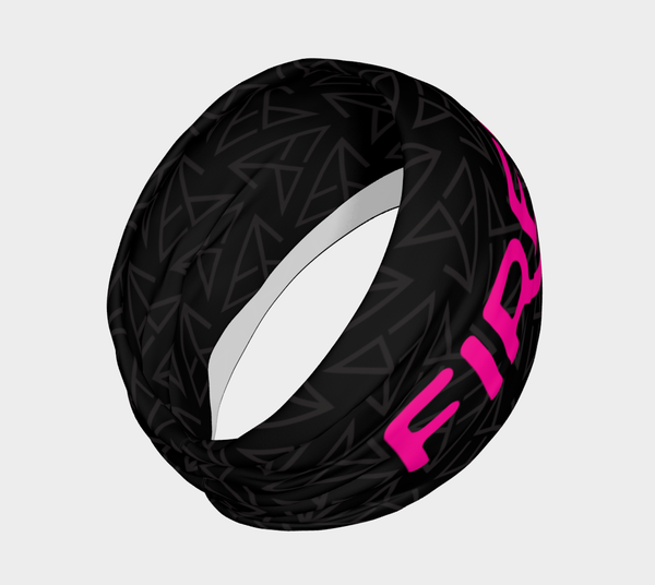 FirePower Black Logo Headband