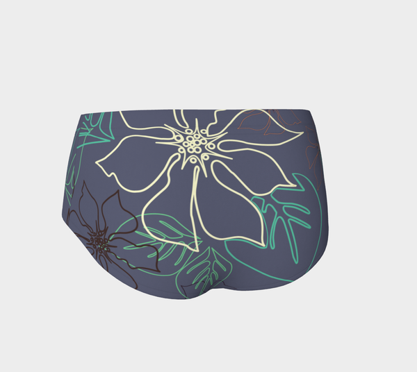 Grey Aloha Micro Run/Swim Shorts