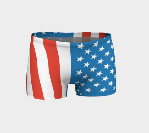 American Flag FirePower Shorts