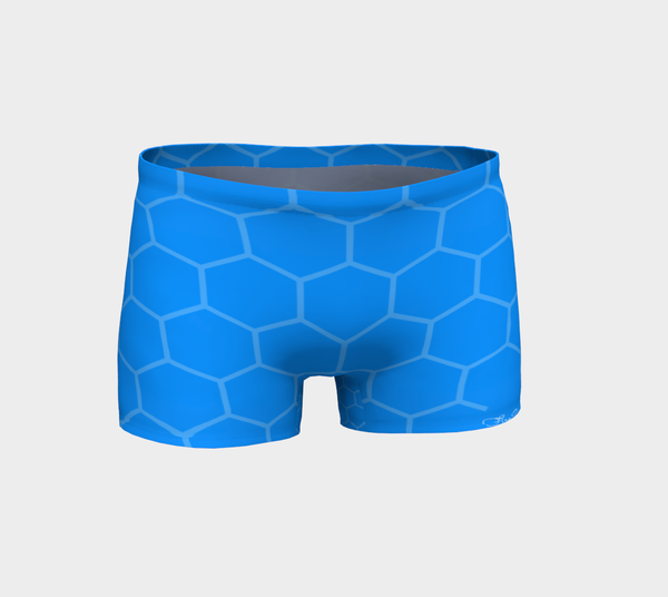 Blue Geo FirePower Shorts
