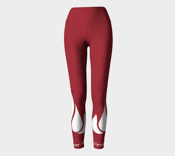 FirePower Red Leggings