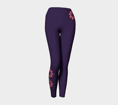 Purple Mandala Leggings