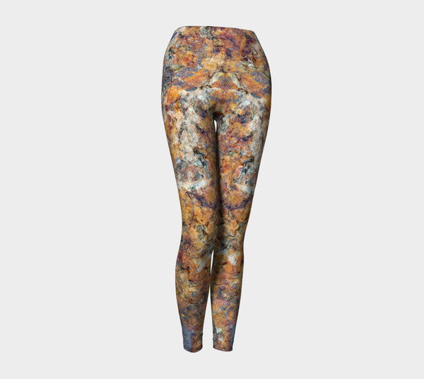 Golden Granite Leggings