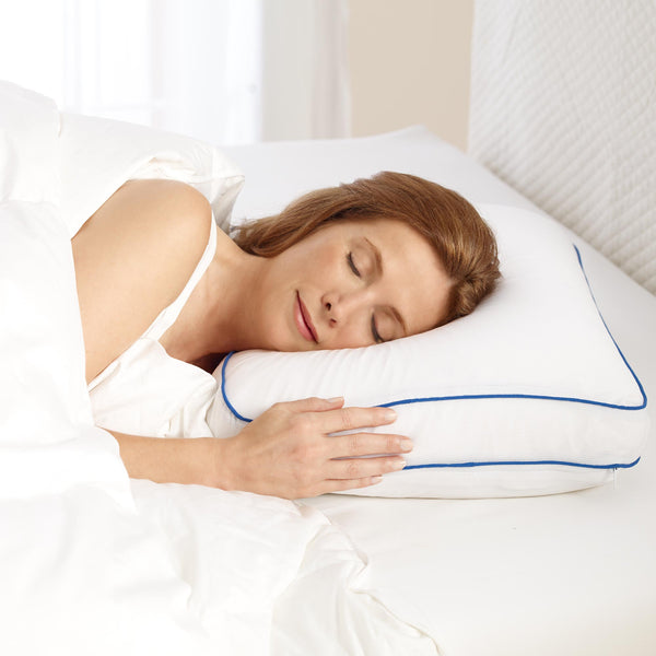 Cooling Gel Ventilated Memory Foam Side Sleeper Pillow