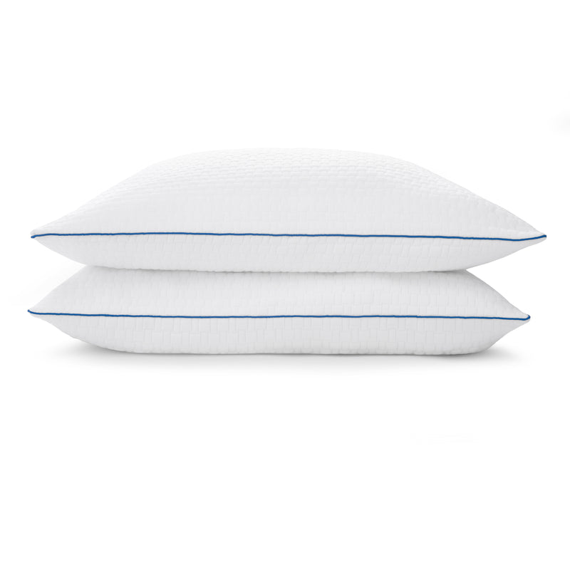 Premium Shredded Gel Memory Foam Pillows Set of 2