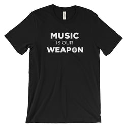Music Is Our Weapon Stacked (Dark)