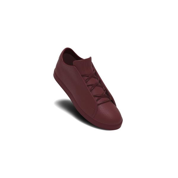 Classic Burgundy Ultra Low Top Trainer