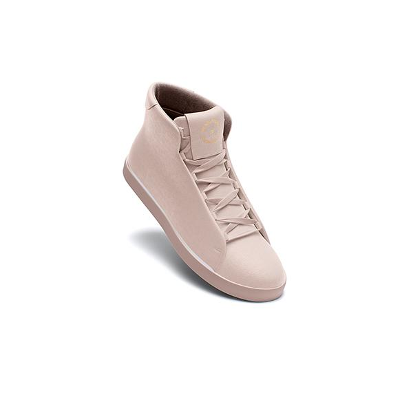 Classic Nude High Top Trainer