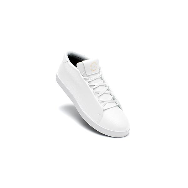 Classic White Low Top Trainer