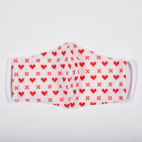 TNP x SM Heart Face Mask