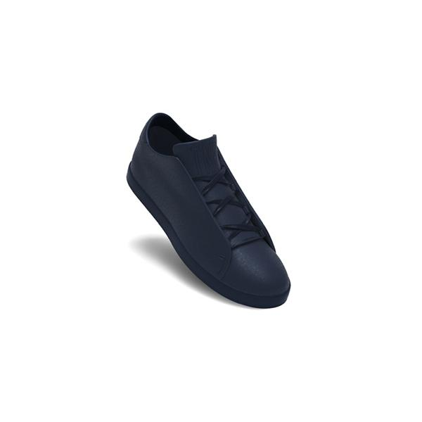 Classic Petrol Blue Ultra Low Top Trainer