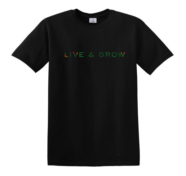 Casey Veggies Live & Grow T-Shirt - Black