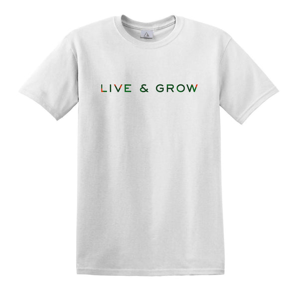 Casey Veggies Live & Grow T-Shirt - White