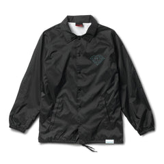 Diamond x PNCINTL Black Coaches Jacket