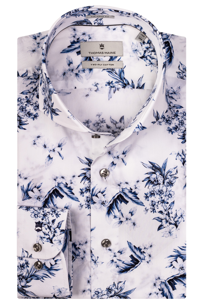 THOMAS MAINE Floral Print Shirt