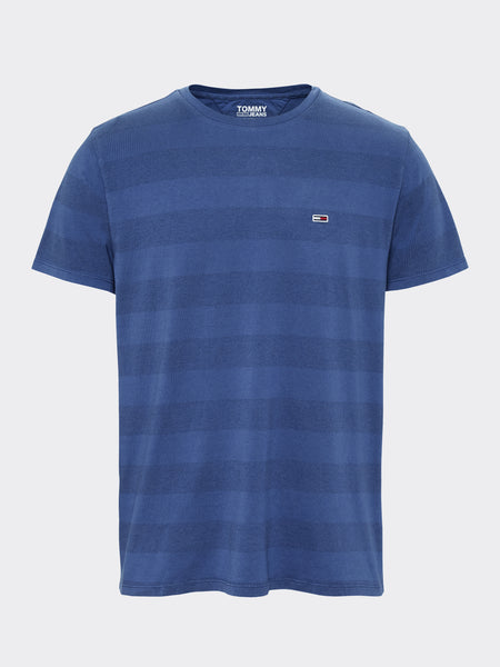 TOMMY JEANS Bold Stripe Organic Cotton T-Shirt