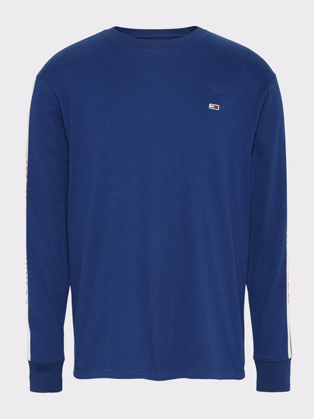 TOMMY JEANS Long Sleeve Logo Tape T-Shirt