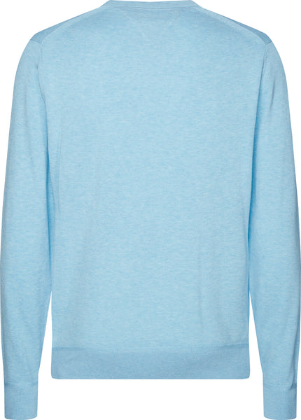 TOMMY HILFIGER ORGANIC COTTON SILK JUMPER
