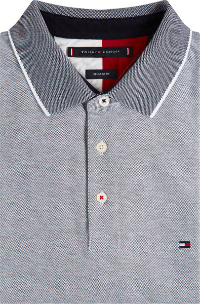 TOMMY HILFIGER OXFORD TIPPED POLO