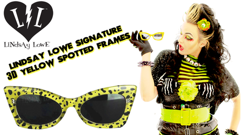 Lindsay Lowe Signature Yellow Spotted Collection