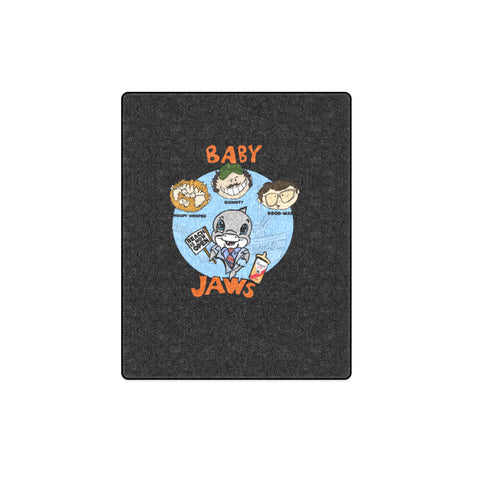 BABY JAWS POSTER- 40X50 BEACH BLANKET