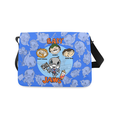 BABY JAWS DIAPER BAG OR MESSENGER BAG