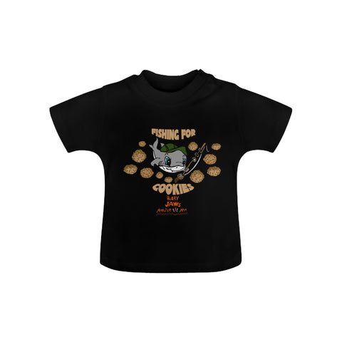 INFANT-TODDLER-FISHING FOR COOKIES-SHORT SLEEVE SHIRT
