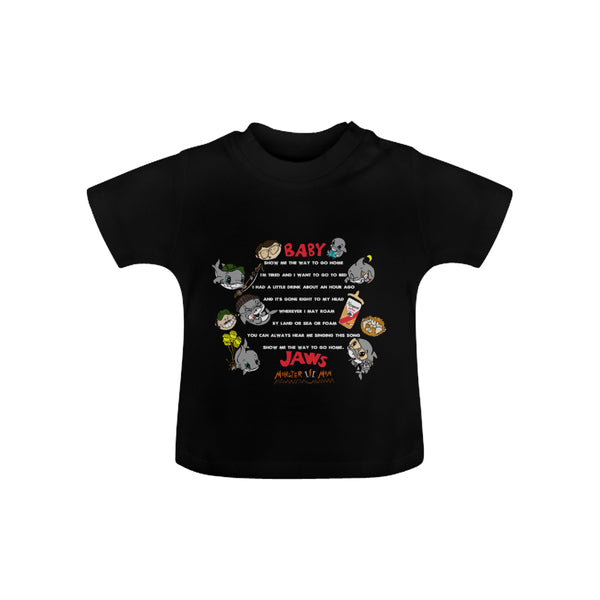 INFANT-TODDLER-SING A LONG-BLACK SHORT SLEEVE SHIRT