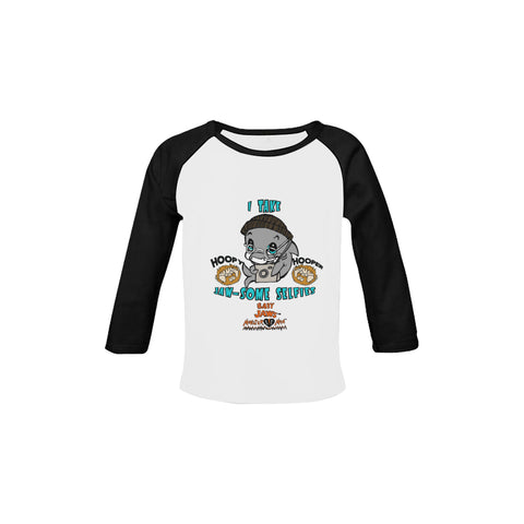 INFANT-TODDLER-I TAKE JAW-SOME SELFIES-RETRO BLACK LONG SLEEVE SHIRT