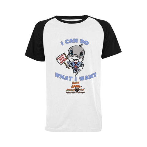 MEN'S- I CAN DO WHAT I WANT- RETRO BLACK SHORT SLEEVE SHIRT