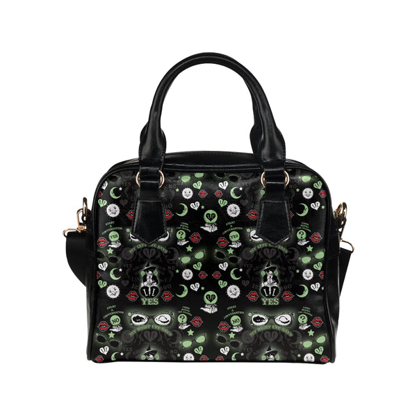 FRIGHT BOARD WITCH HANDBAG