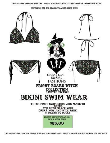 FRIGHT BOARD WITCH BIKINI