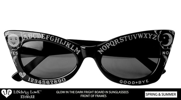 Fright Board Glow In The Dark Frame / Sunglasses