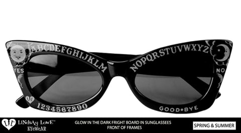 *LIMITED QUANTITY* Fright Board Glow In The Dark Frame/ Sunglasses