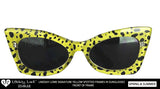 YELLOW SPOTTED SUNGLASSES