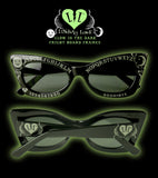 "*LIMITED* ONLY LEFT ""GLOW IN THE DARK FRIGHT BOARD SUNGLASSES"""