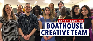 The Boathouse Creative Team – Helping Our Customers Bring Their Ideas To Life