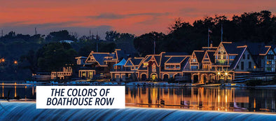 The Colors of Boathouse Row